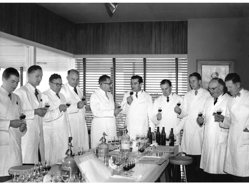 Ray Beckwith - Magill Lab_Mid 50's