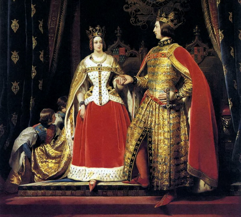 Queen-victoria-and-prince-albert-at-the-bal-costume